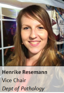 Henrike is also the Vice Chair for BBMS15 (read: she does all the work).