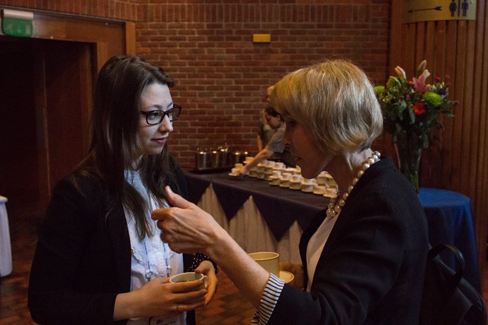 Networking with Prof Helen Rees